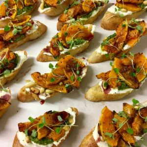 canapes from Dil and the Bear