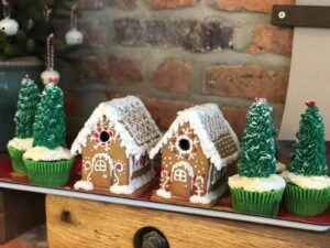 Gingerbread Houses and Afternoon Tea